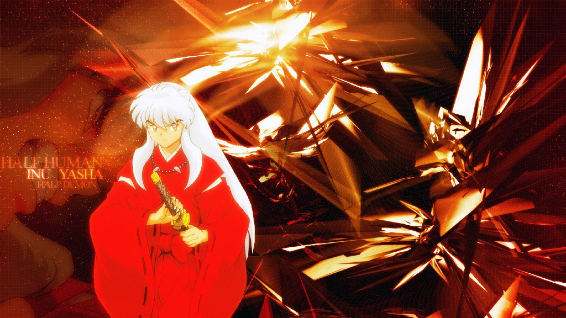 Widescreen Anime Girl Wallpaper Hd Inuyasha Wallpapers Pixelstalk Net