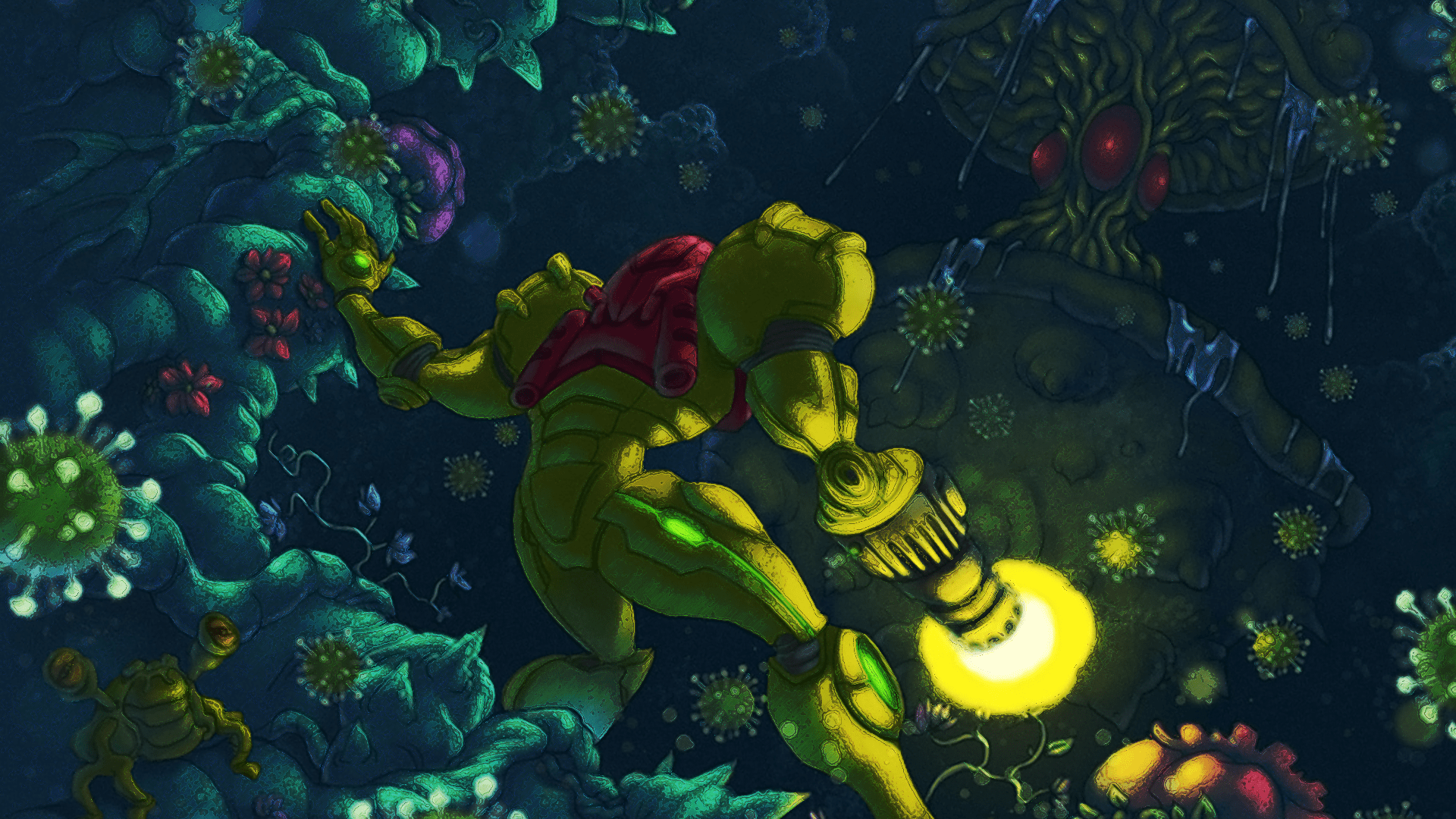 Nintnedo Fall Wallpapers Hd Metroid Wallpapers Pixelstalk Net