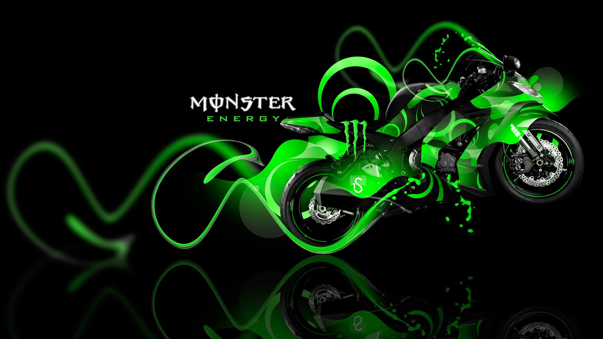 Neon Wallpaper Hd 3d Monster Energy Wallpaper Hd Pixelstalk Net
