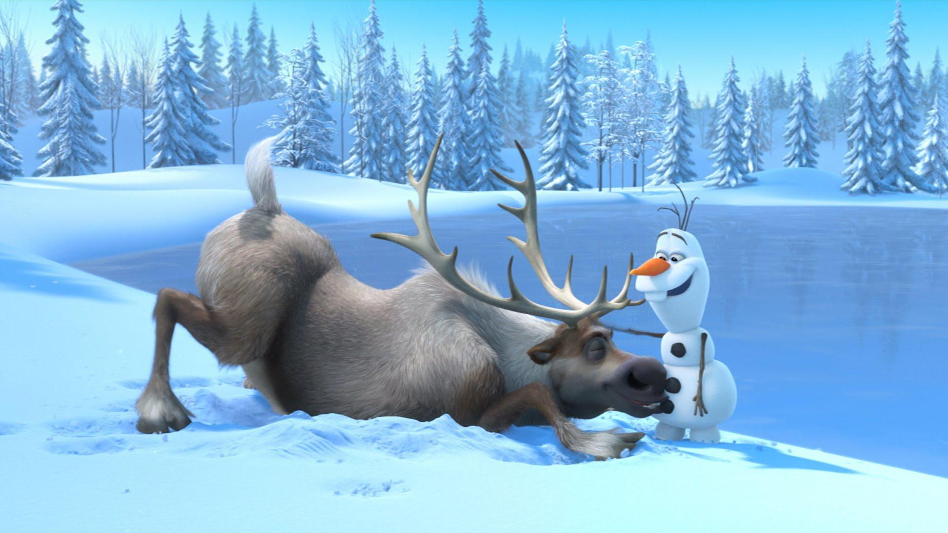 Cute Totoro Wallpaper Olaf Frozen Wallpaper Pixelstalk Net