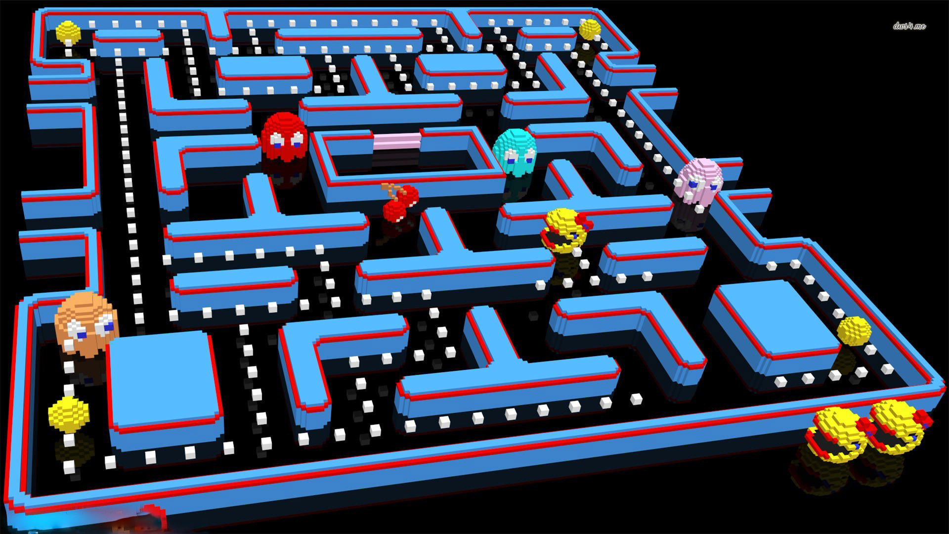 Free 3d Wallpaper Download For Mobile Pacman Wallpapers Free Download Pixelstalk Net
