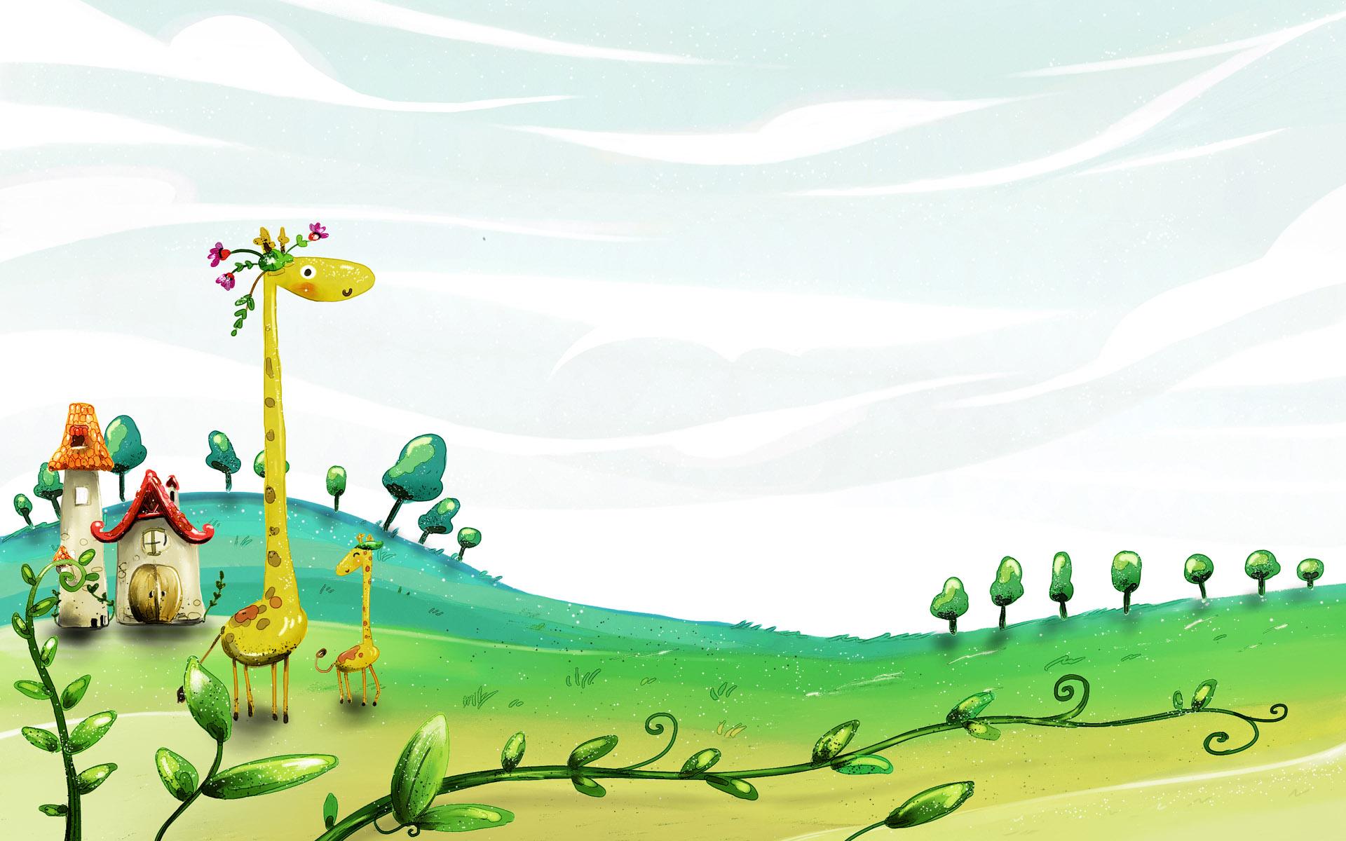 Fall Cartoon Wallpaper Desktop Kids Wallpapers Pixelstalk Net