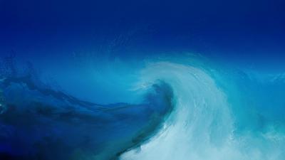 Blue Watercolor Wallpaper   PixelsTalk.Net