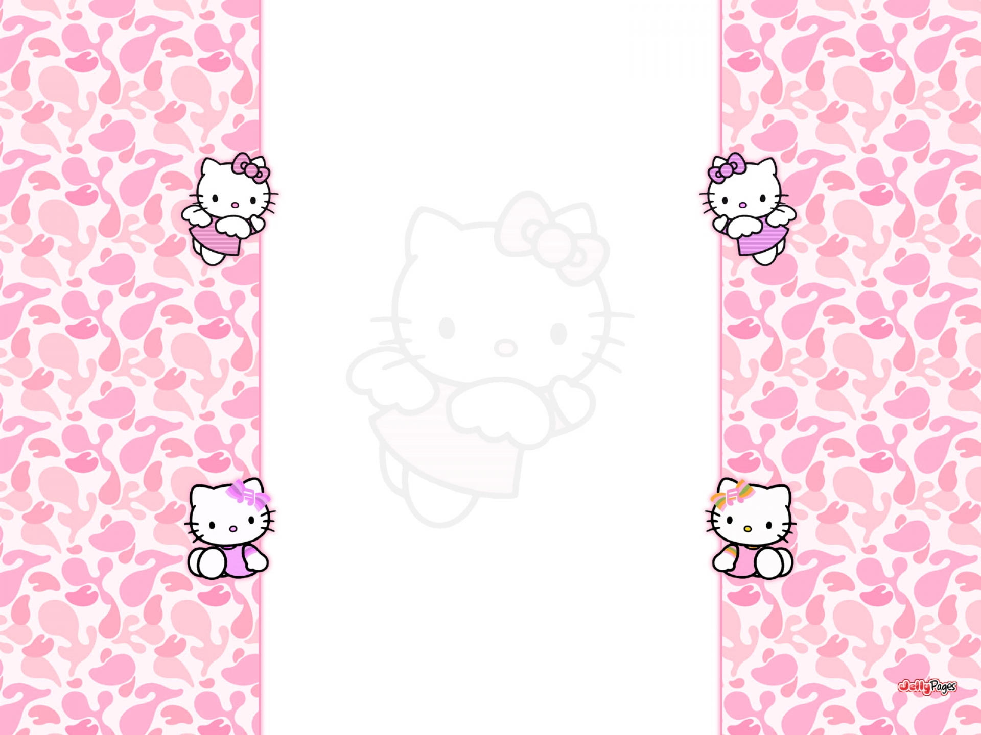 Girl Power Laptop Wallpaper Hello Kitty Wallpaper Hd Pixelstalk Net