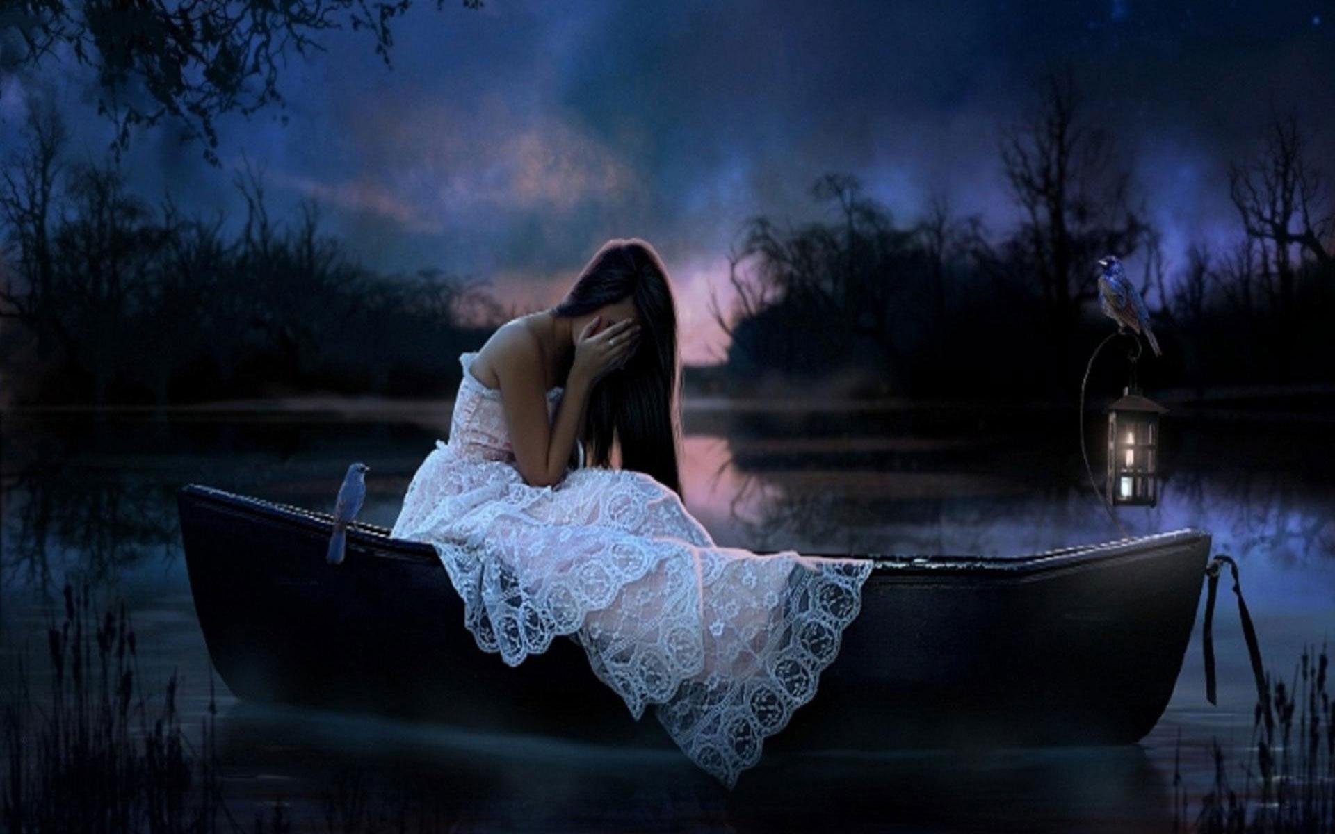 Alone Crying Girl Hd Wallpaper Sad Wallpapers Hd Pixelstalk Net