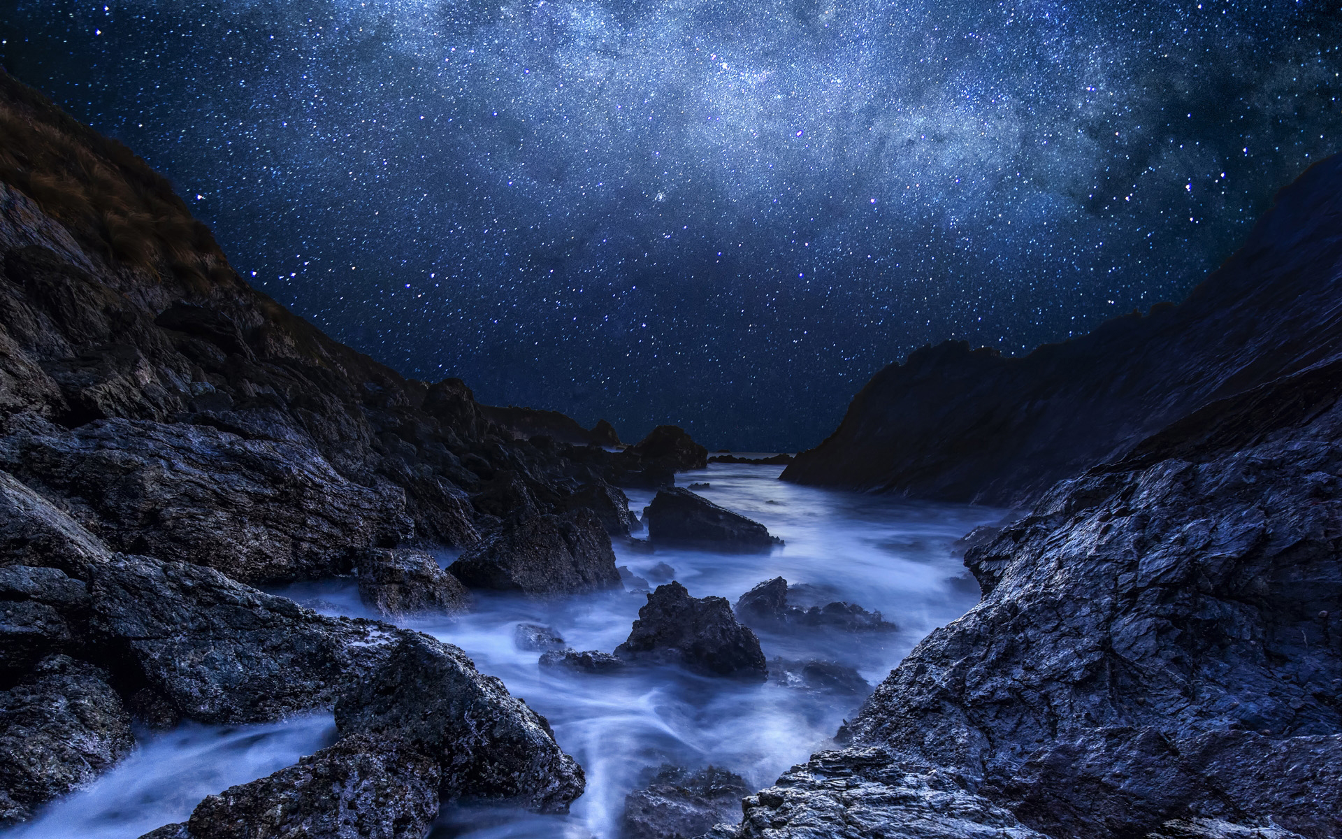 Free Fall Season Desktop Wallpapers Free Hd Starry Night Wallpapers Pixelstalk Net