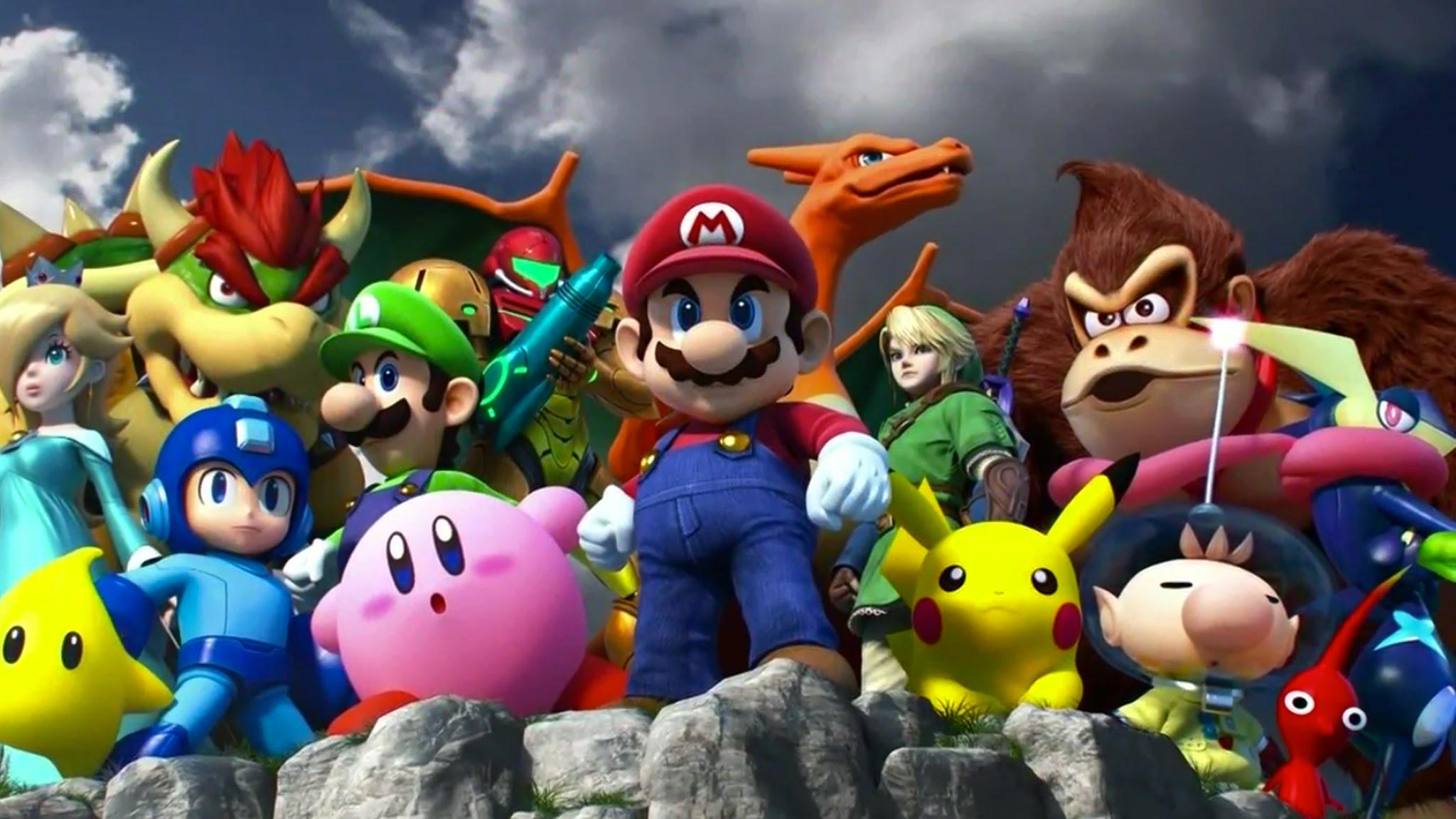 3d Valentine Wallpapers Free Super Smash Bros Backgrounds Pixelstalk Net