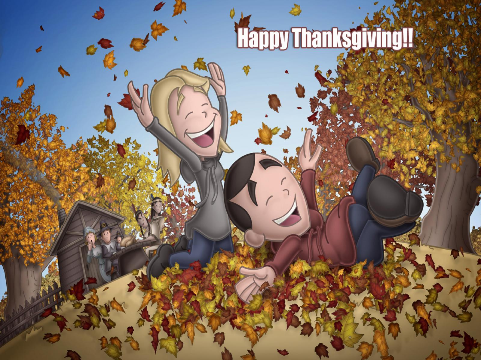 Animated Fall Wallpaper Free Disney Thanksgiving Hd Backgrounds Pixelstalk Net