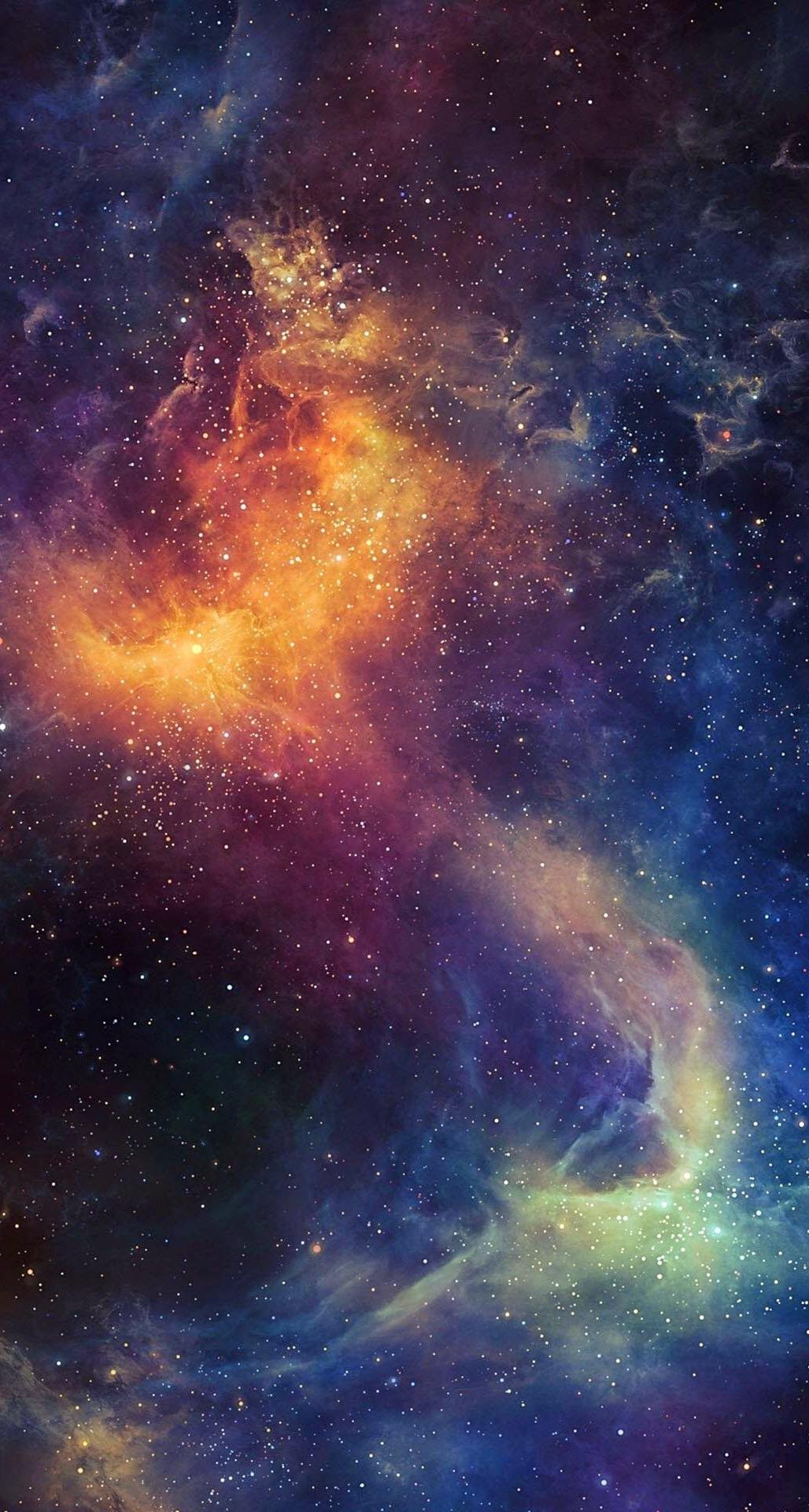 Starry Fall Night Wallpaper Free Hd Space Iphone Wallpapers Pixelstalk Net