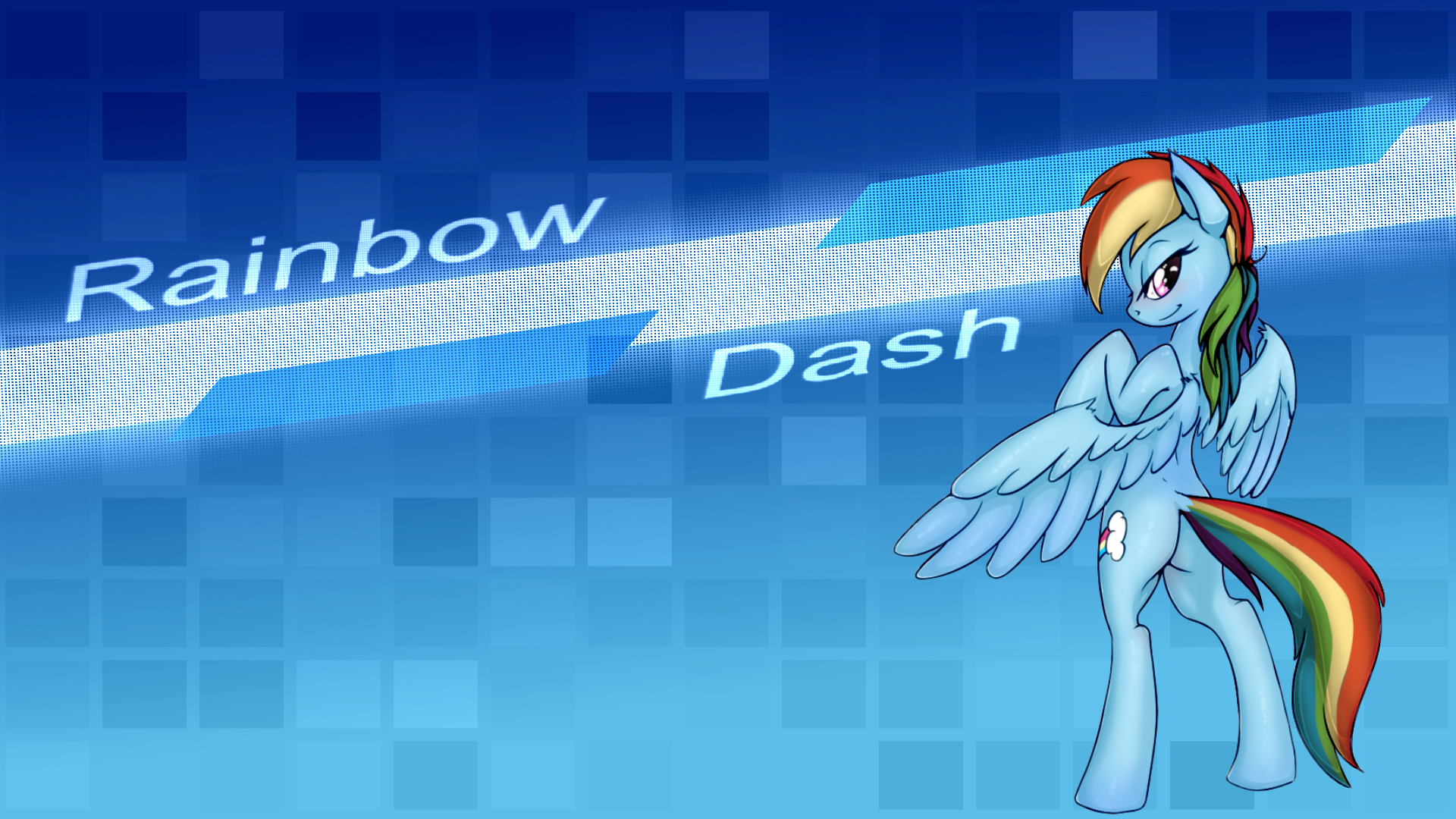 Princess Quotes Wallpaper Cute Rainbow Dash Wallpapers Pixelstalk Net