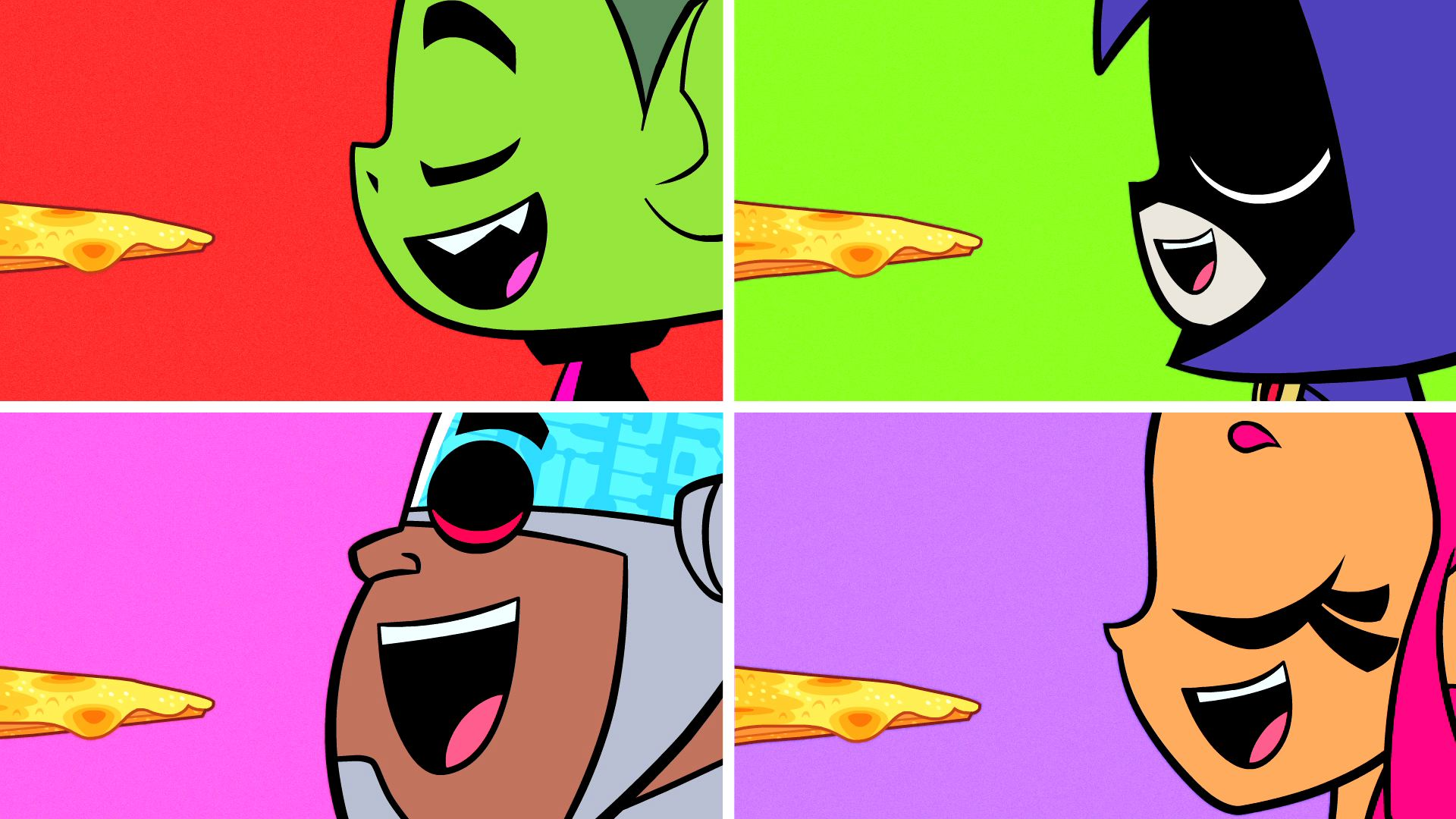 Harley Quinn Power Girl Wallpaper Hd Teen Titans Go Hd Wallpapers Pixelstalk Net