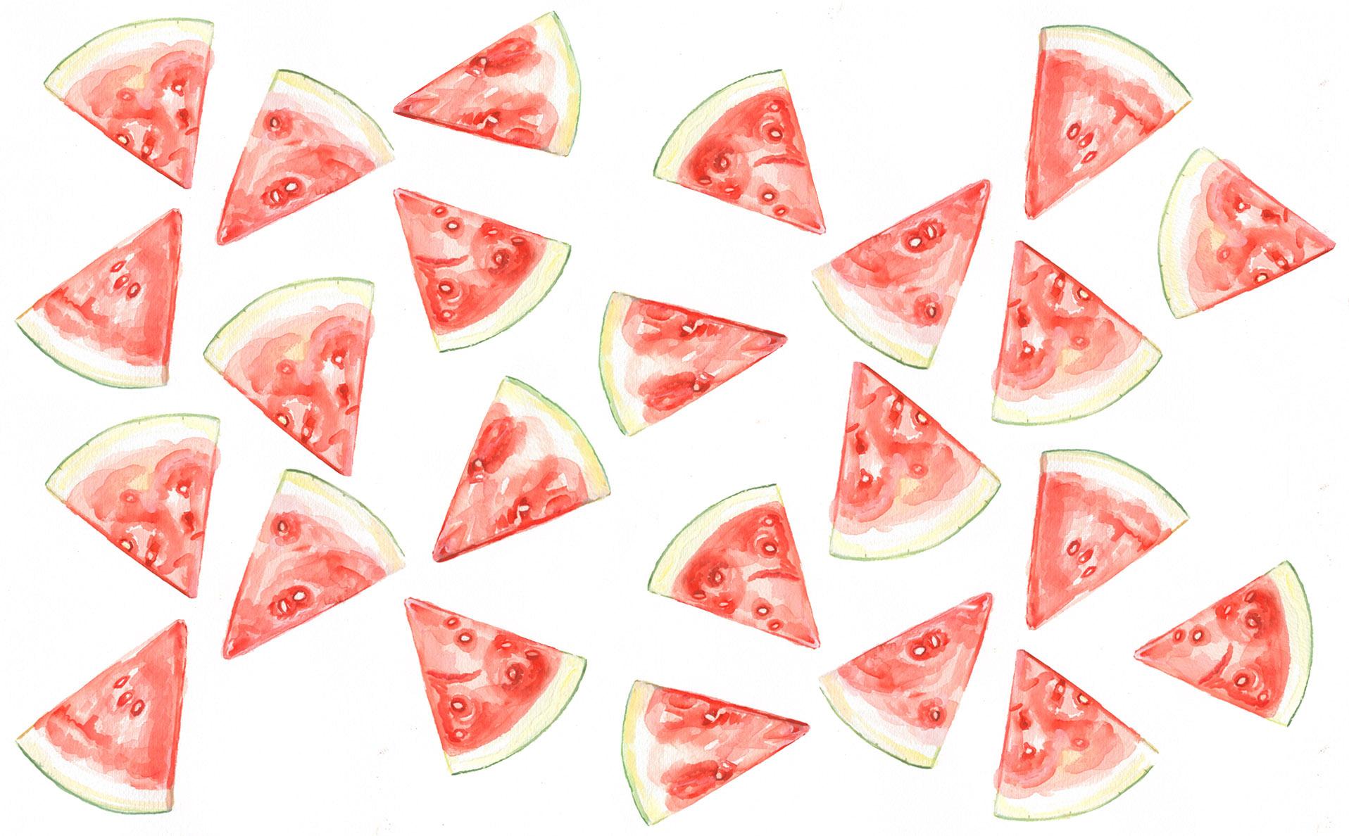 Cute Cactus Wallpaper Macbook Hd Watermelon Backgrounds Pixelstalk Net