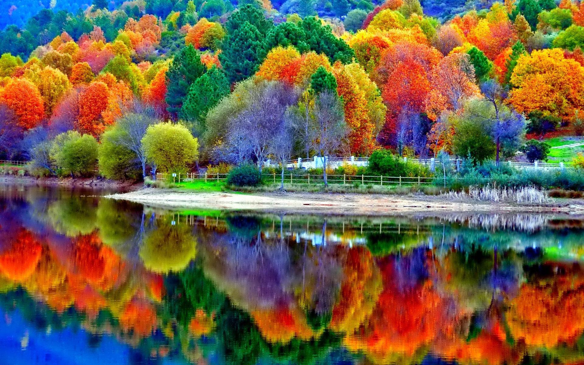 Free Fall Waterfall Desktop Wallpaper Fall Scenery Wallpapers Free Download Pixelstalk Net