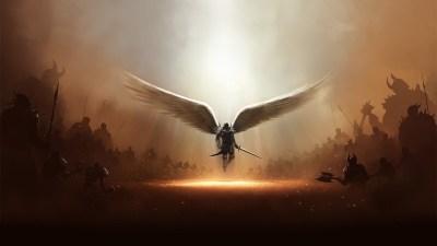 HD Wallpaper Angel Download | PixelsTalk.Net