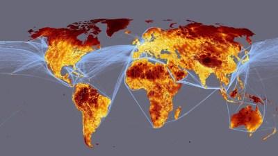 HD Wallpapers World Map | PixelsTalk.Net