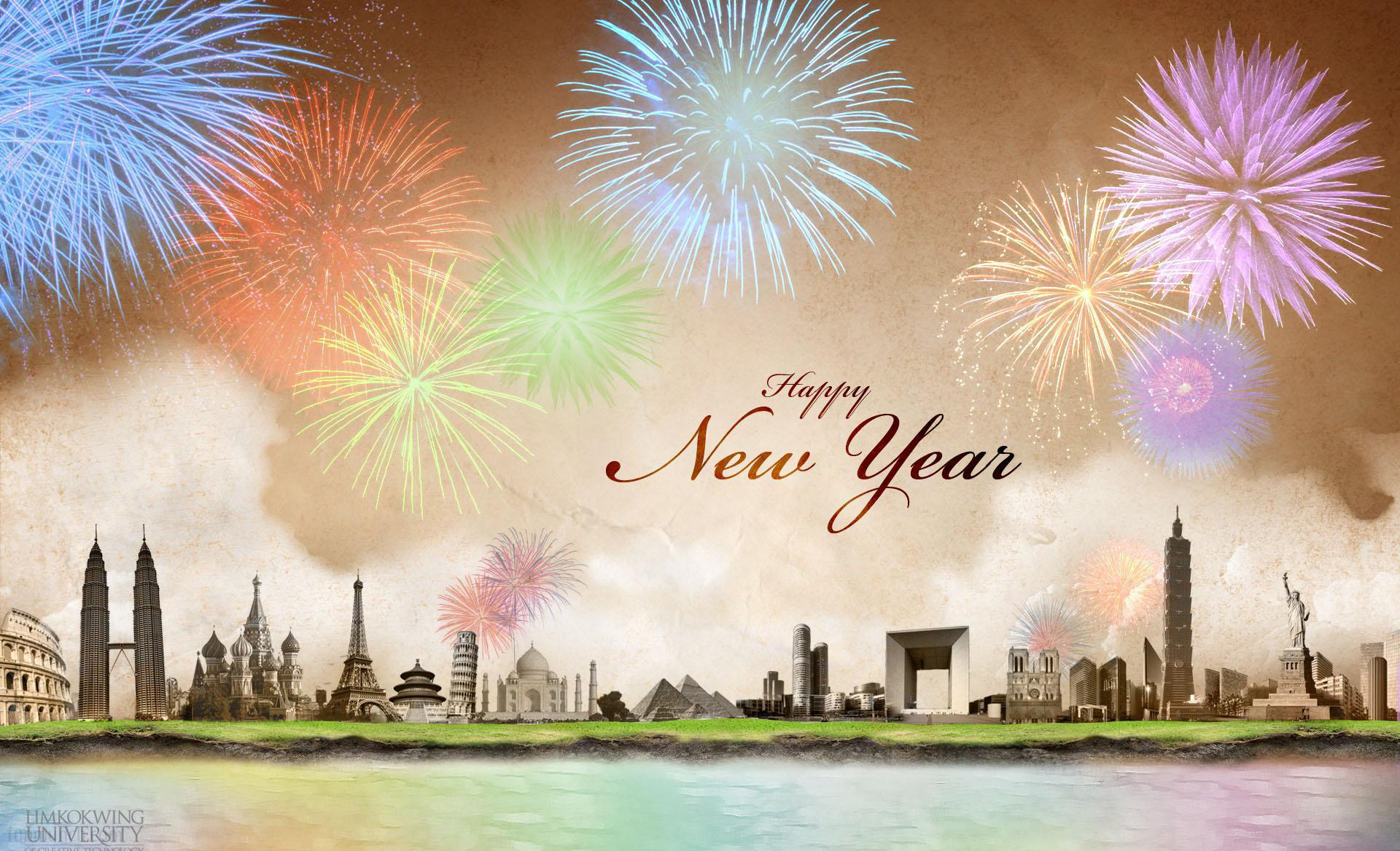 Happy New Year 2016 3d Wallpaper For Pc Happy New Year Backgrounds Hd Wallpapers Backgrounds