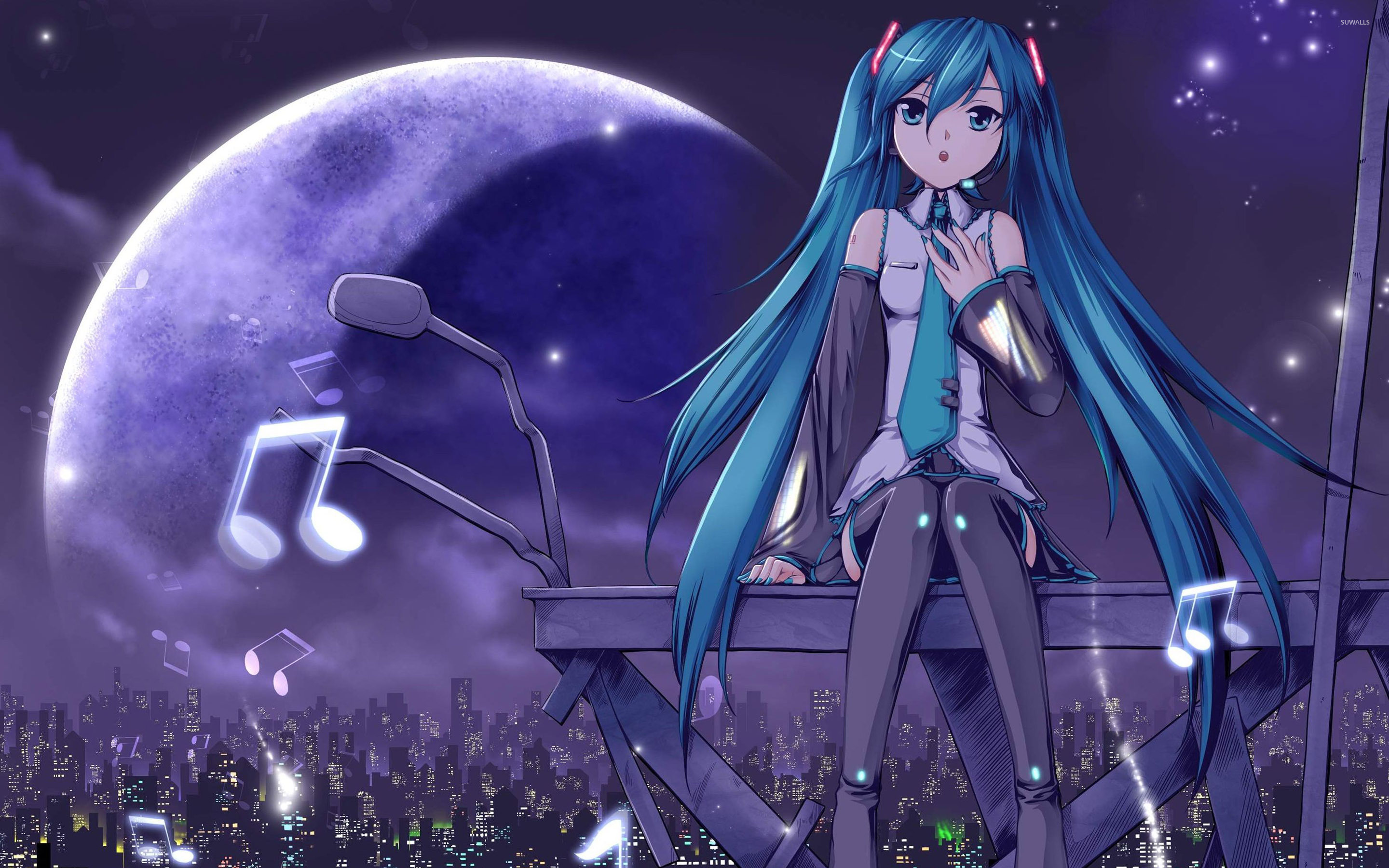 Cute Love Quotes Wallpapers Free Download Hatsune Miku Wallpapers Hd Pixelstalk Net