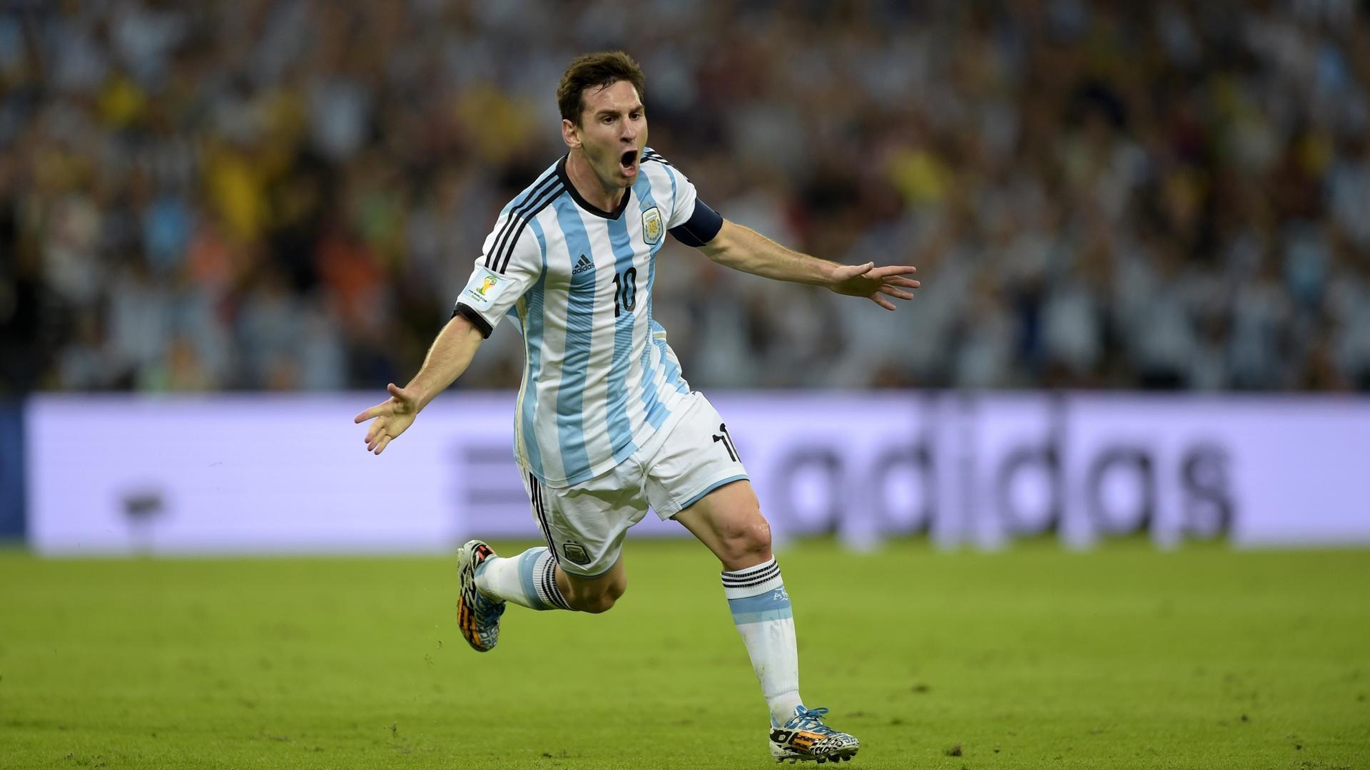 Argentina Football Wallpaper Hd Lionel Messi 1920x1080 Backgrounds Full Hd Pixelstalk Net