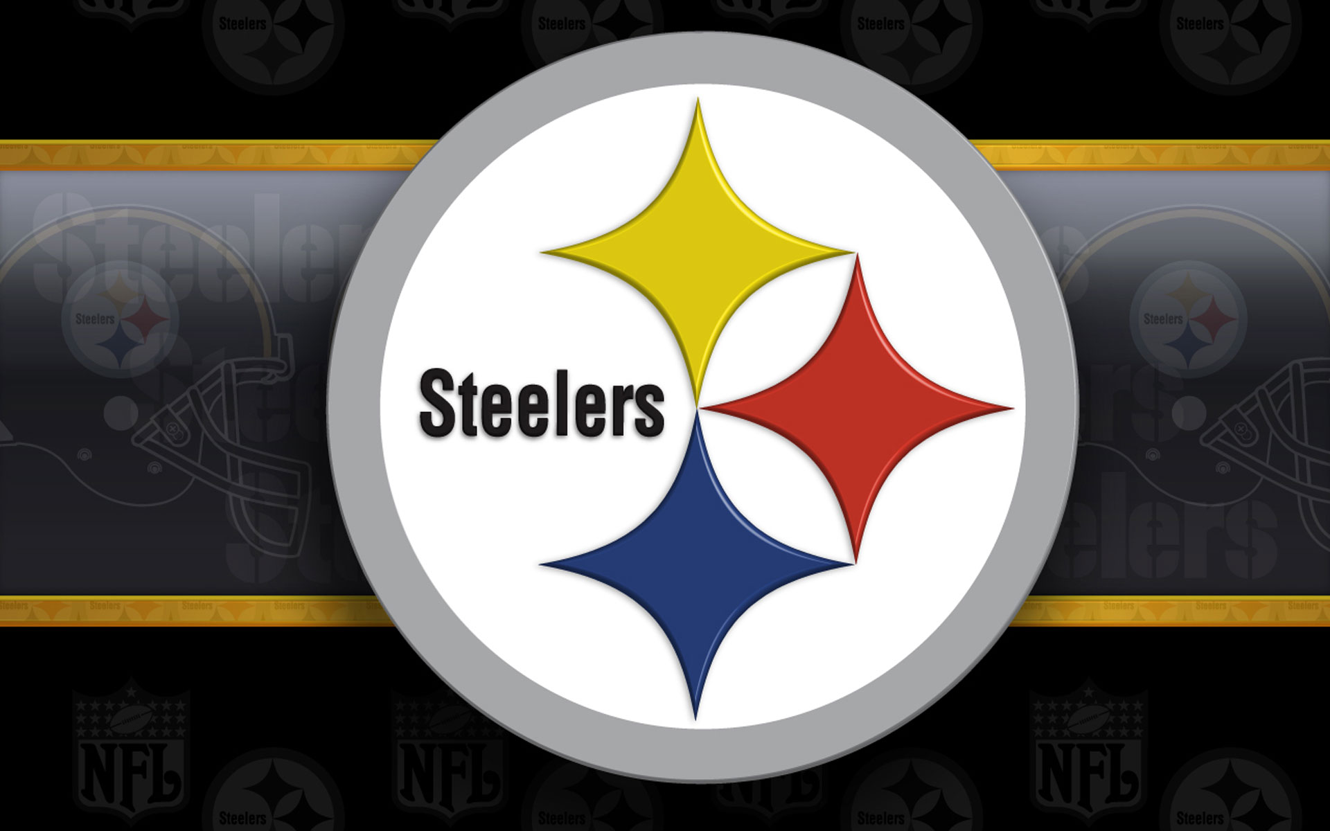 Steelers 3d Wallpaper Pittsburgh Steelers Logo Wallpaper Hd Pixelstalk Net