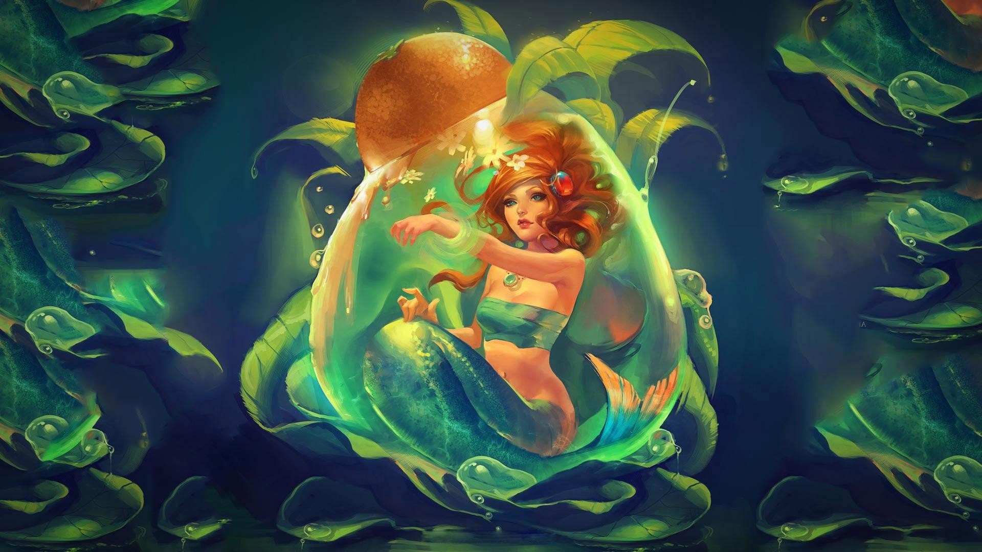 Lonely Girl Wallpaper Download Free Free Desktop Mermaid Wallpapers Pixelstalk Net