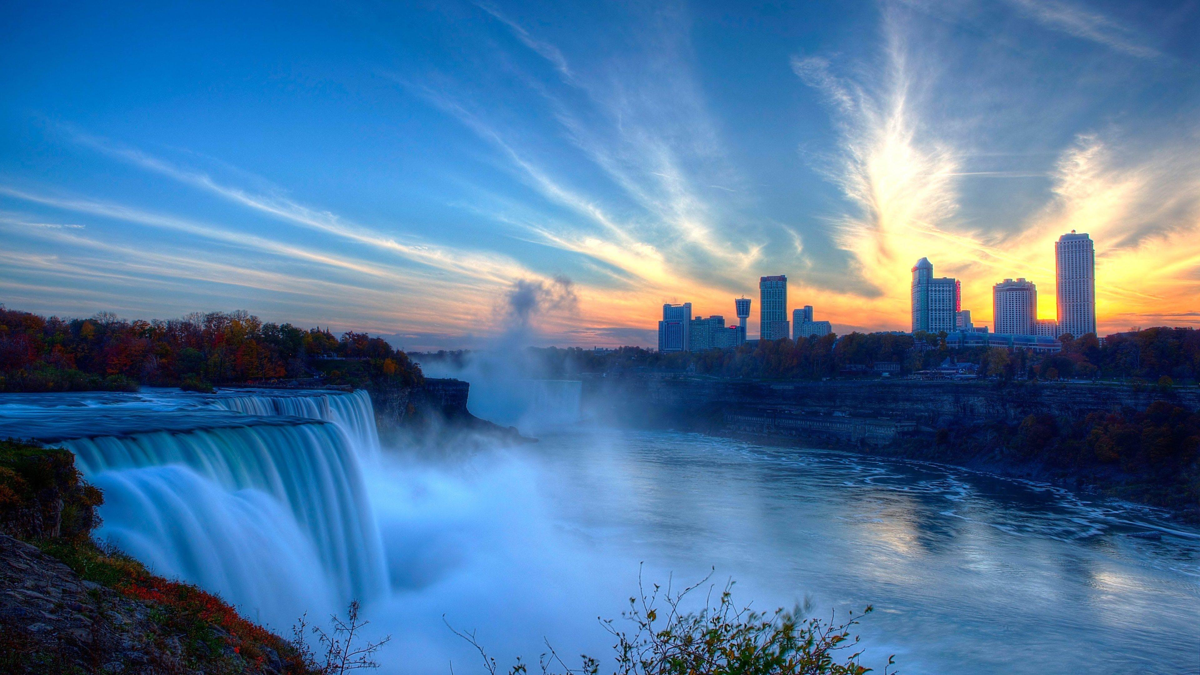 Beautiful Niagara Falls Wallpaper Waterfall Wallpaper High Quality Pixelstalk Net
