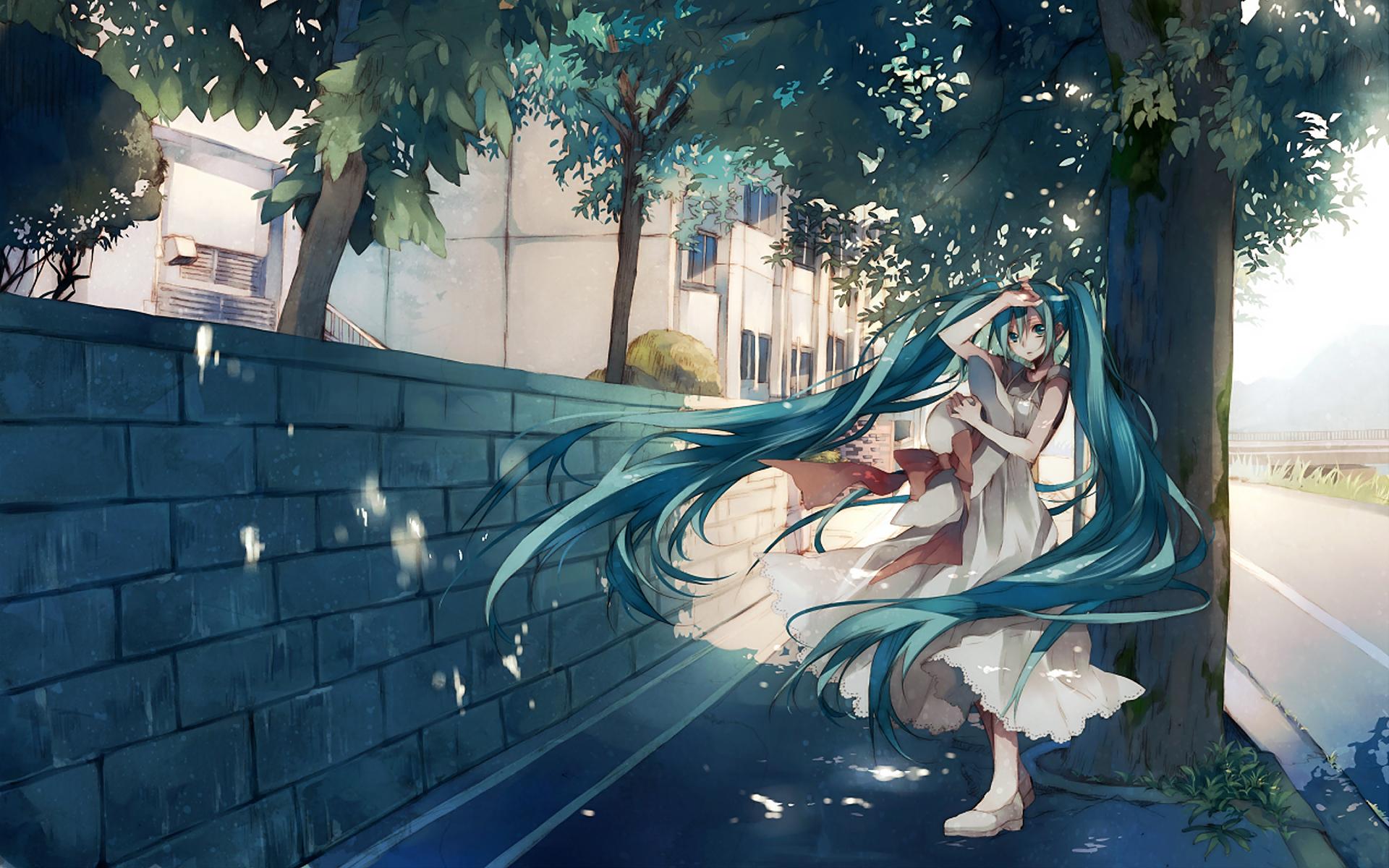 Sad Girl Hd Wallpaper Free Download Desktop Hatsune Miku Hd Wallpapers Pixelstalk Net