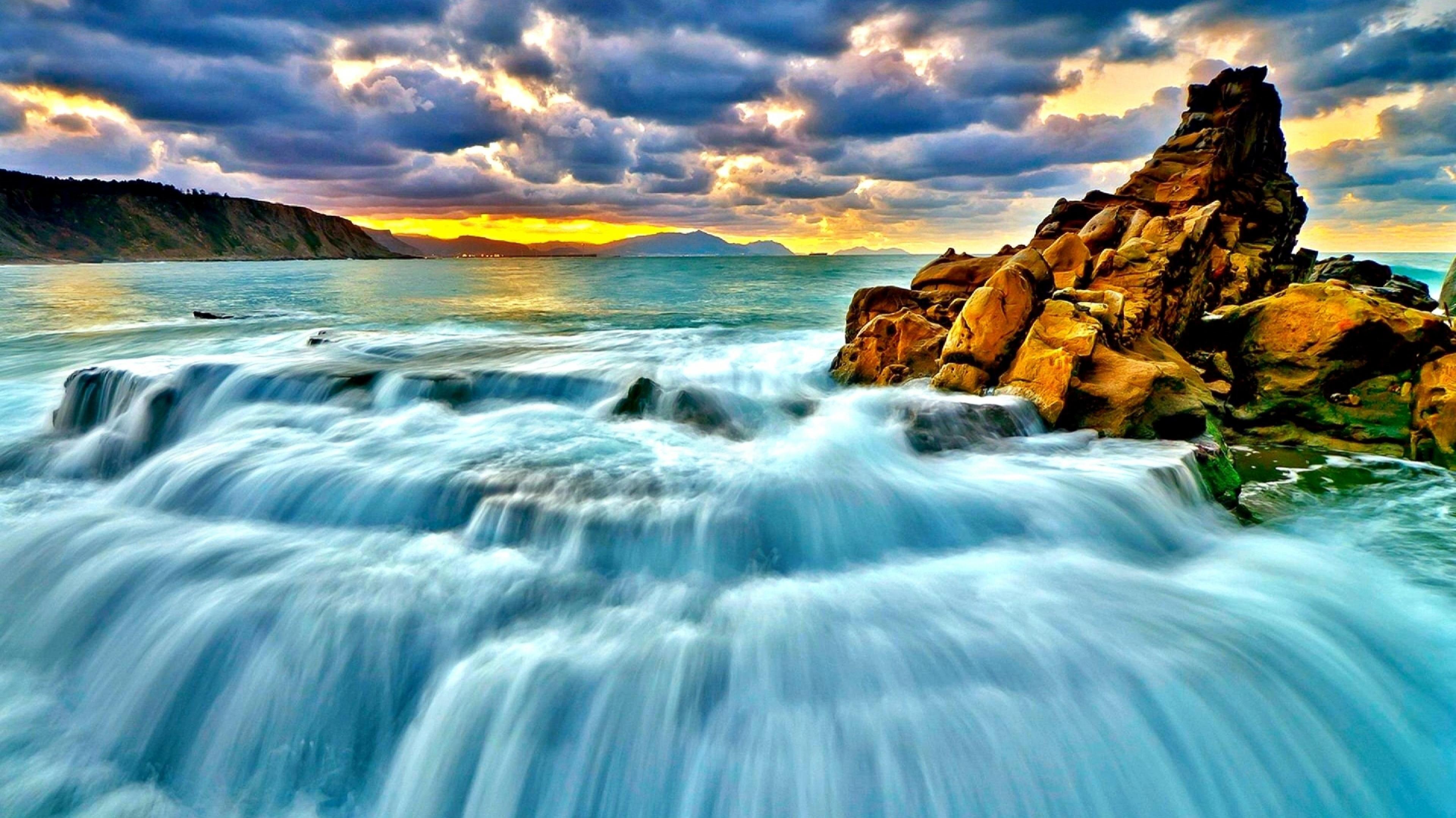 Water Fall Wallpaper Hd For Desktop Free Download Waterfall Wallpaper High Quality Pixelstalk Net