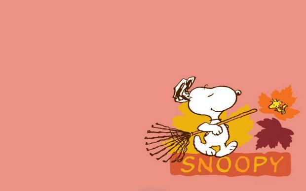Free Snoopy Fall Wallpaper Snoopy Backgrounds Pixelstalk Net