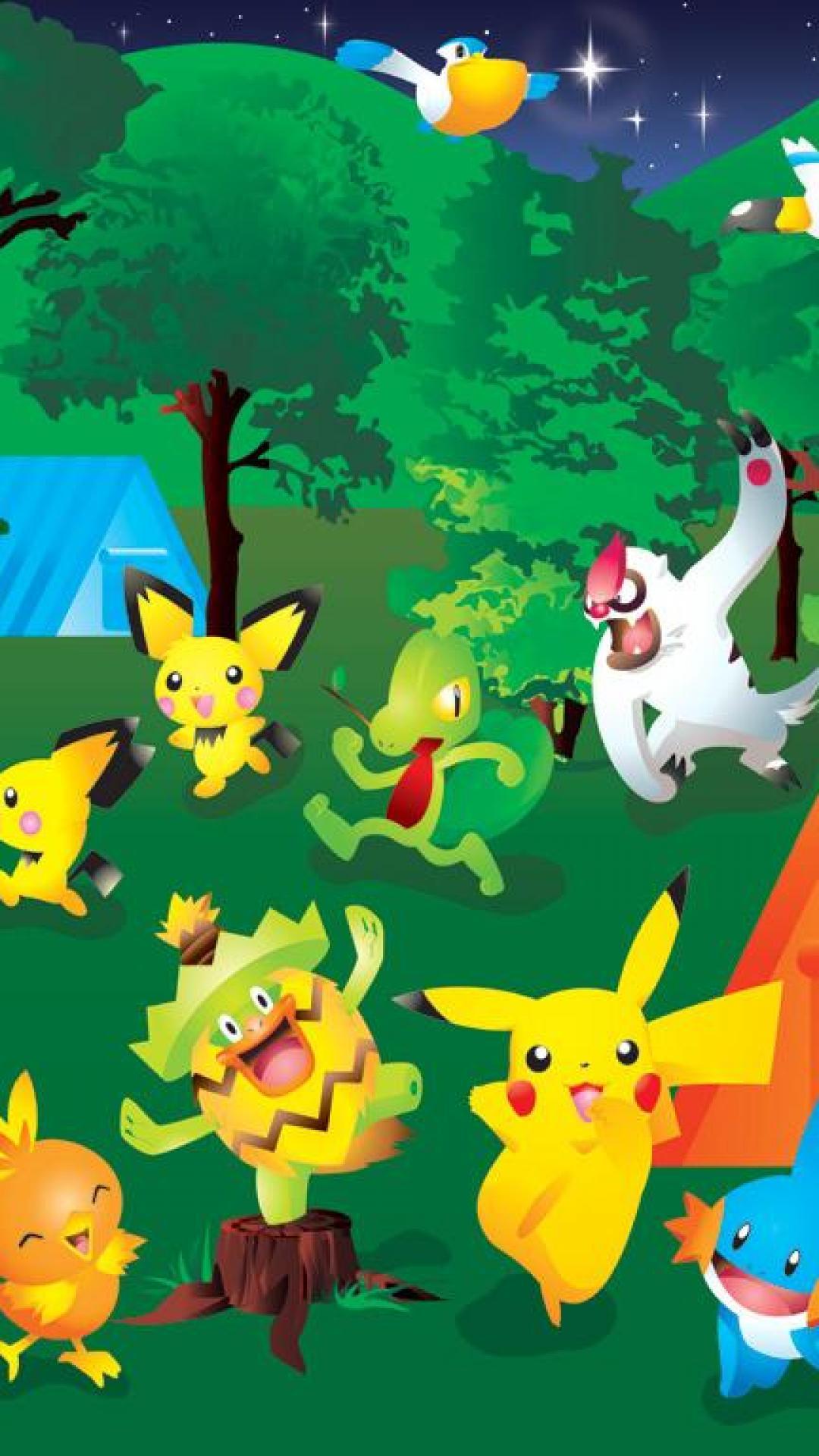 Cute Cartoon Wallpapers For Mobile Hd Free Pokemon Iphone Wallpapers Pixelstalk Net