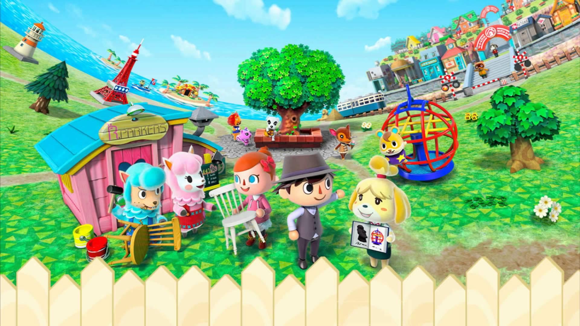 Animal Crossing Desktop Wallpaper Animal Crossing Wallpapers Hd Pixelstalk Net