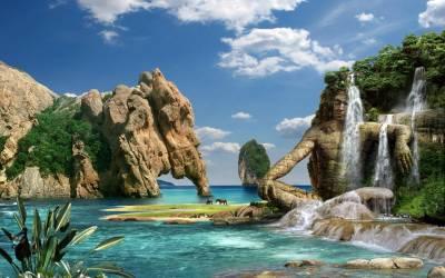 3D Nature Desktop Wallpapers | PixelsTalk.Net