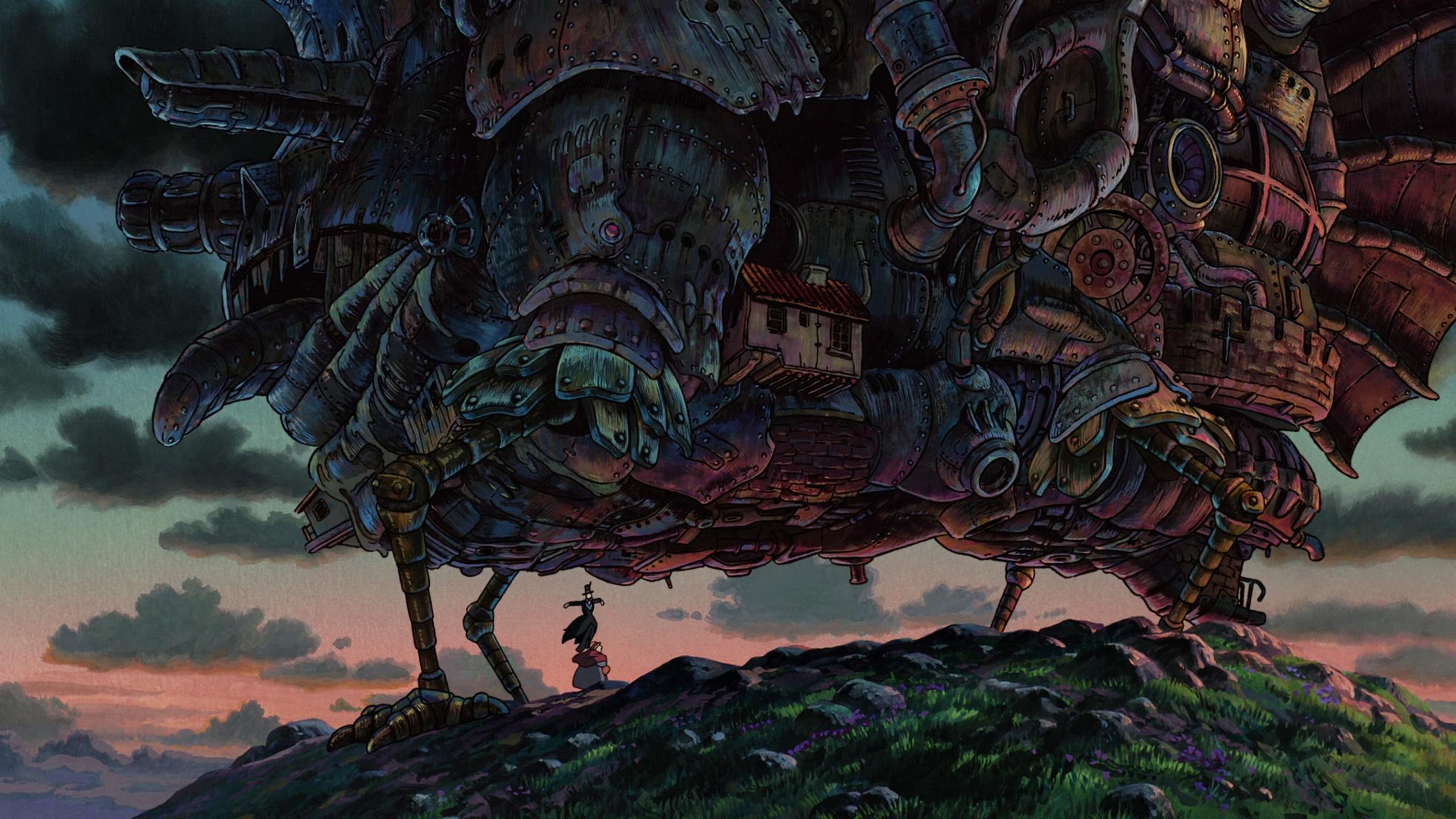 Howls Moving Castle Hd Wallpaper Studio Ghibli Backgrounds Pixelstalk Net