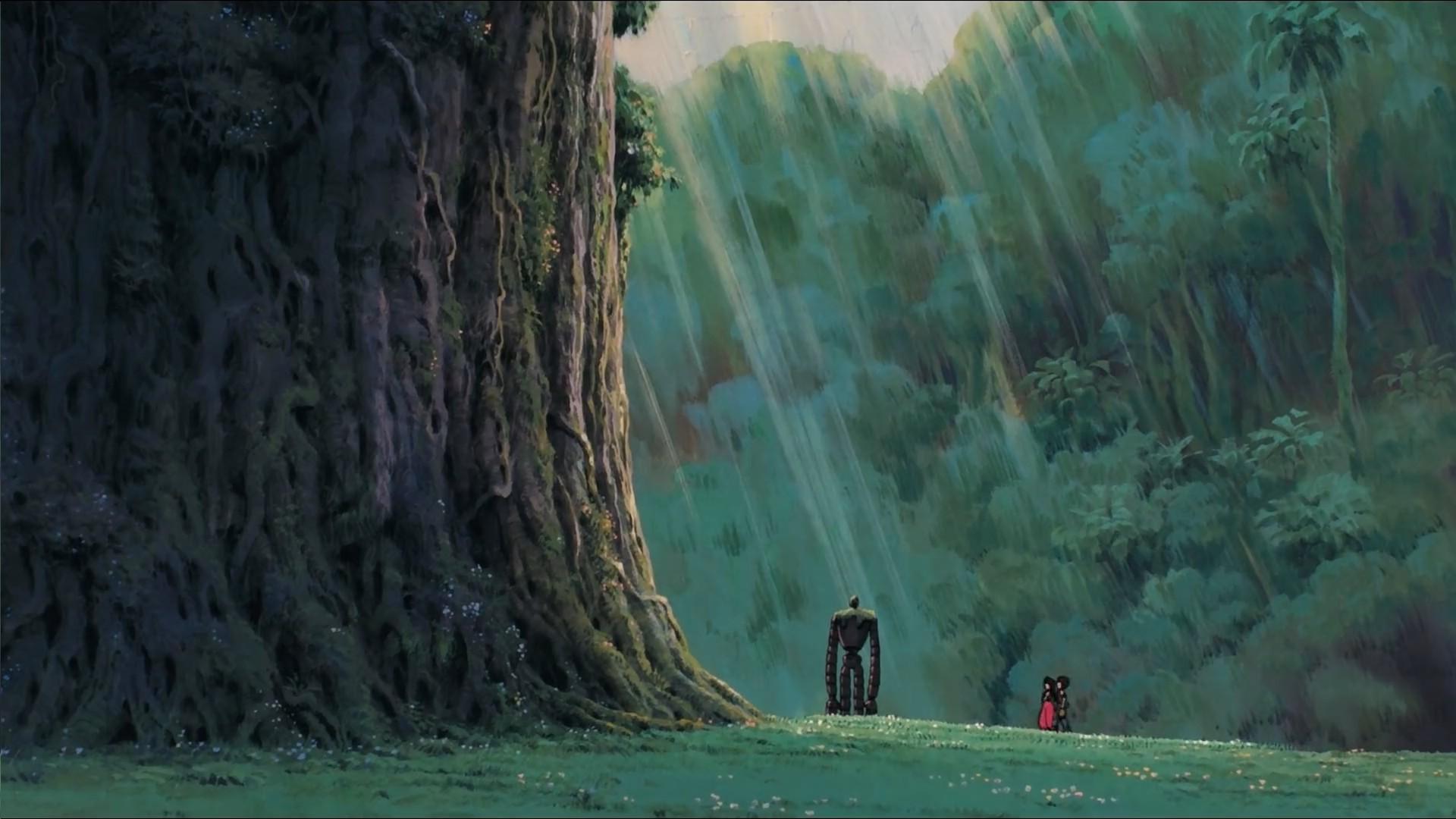 3d Moving Wallpapers For Mobile Studio Ghibli Wallpaper Hd Pixelstalk Net