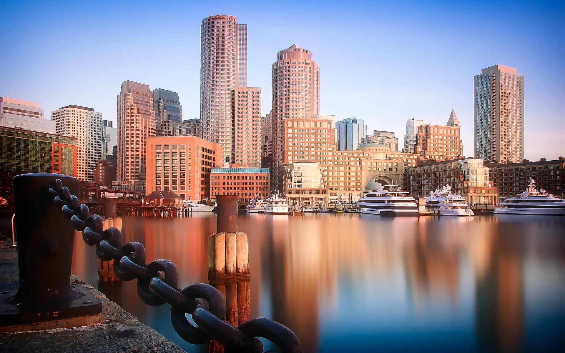 Happy Thanksgiving 3d Wallpaper Hd Boston Skyline Wallpapers Pixelstalk Net