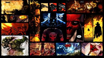 HD Comic Book Desktop Backgrounds | PixelsTalk.Net