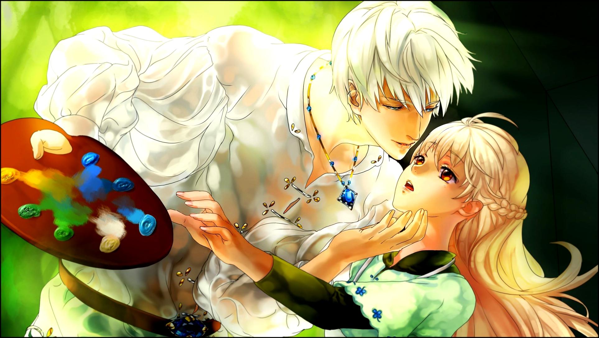 Sad Boy And Girl Wallpaper Full Hd Download Free Cute Anime Couple Backgrounds Pixelstalk Net