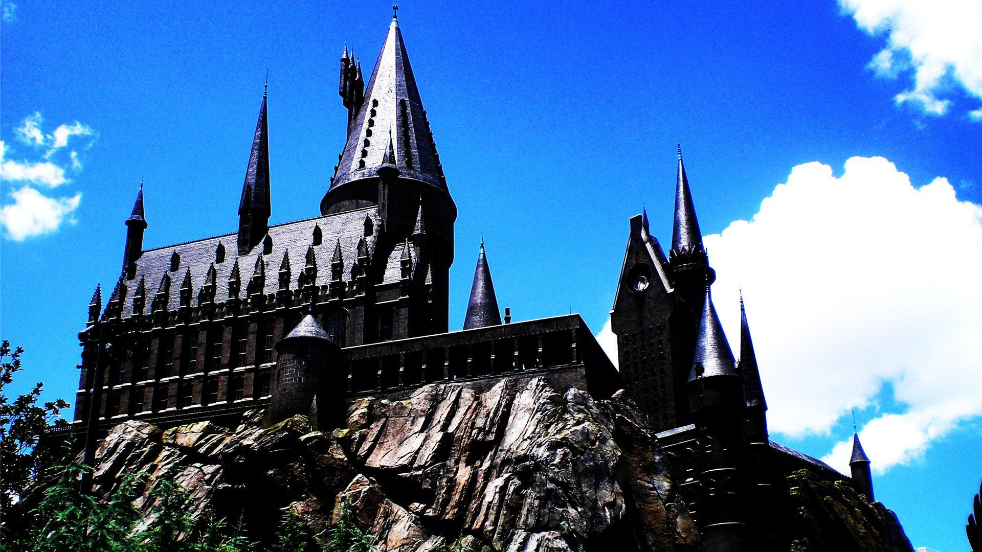 Fall Wallpaper Cartoon Free Download Hogwarts Castle Backgrounds Pixelstalk Net