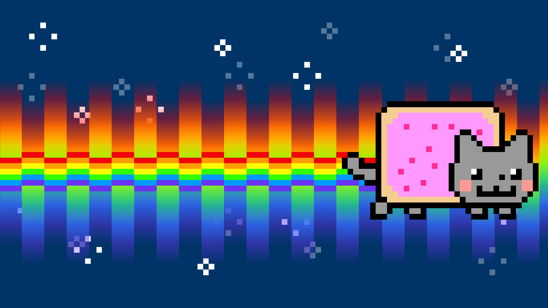 Animated Gif Desktop Wallpaper Free Download Nyan Cat Backgrounds Pixelstalk Net