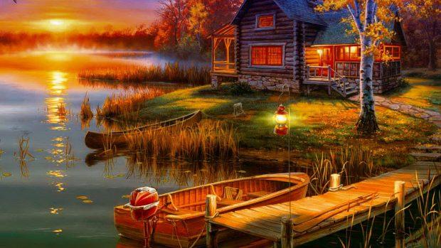 Good Evening 3d Wallpaper Hd Peaceful Wallpapers Free Pixelstalk Net