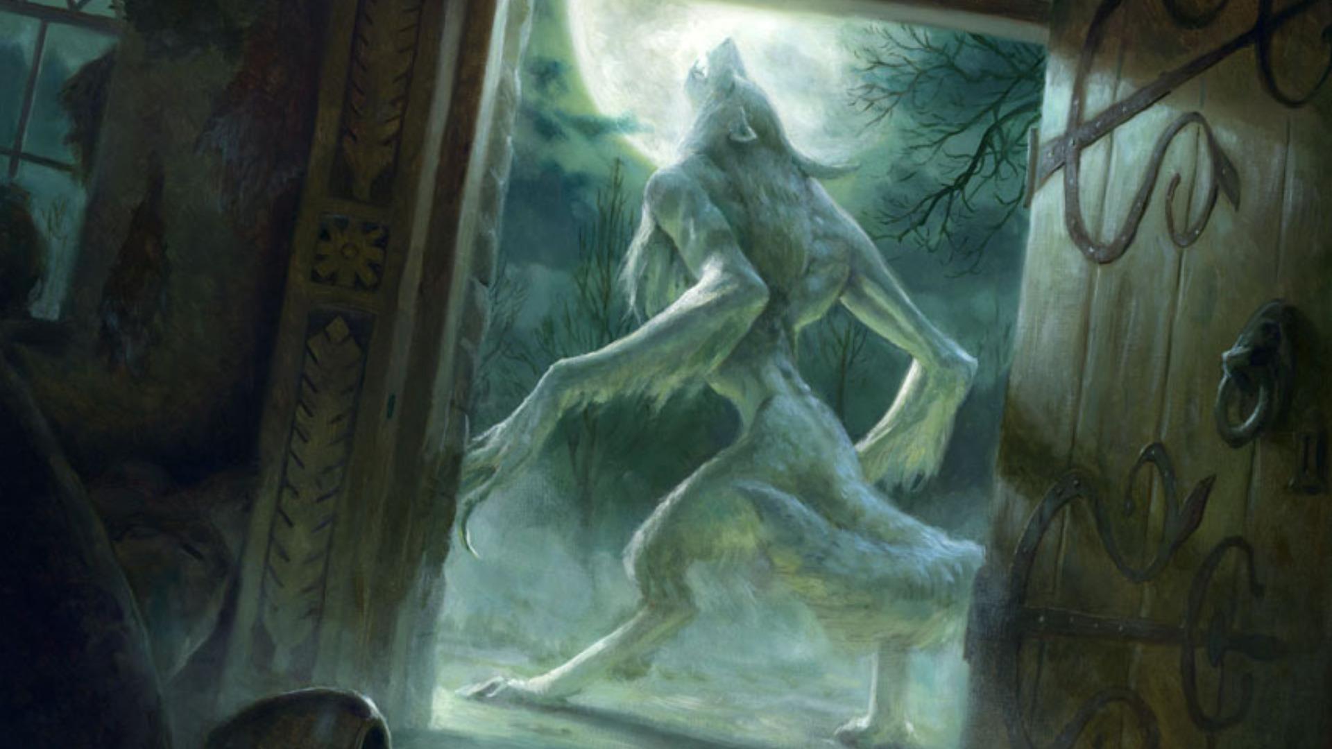 Gothic Vampire Girl Wallpaper Free Download Werewolf Wallpapers Pixelstalk Net