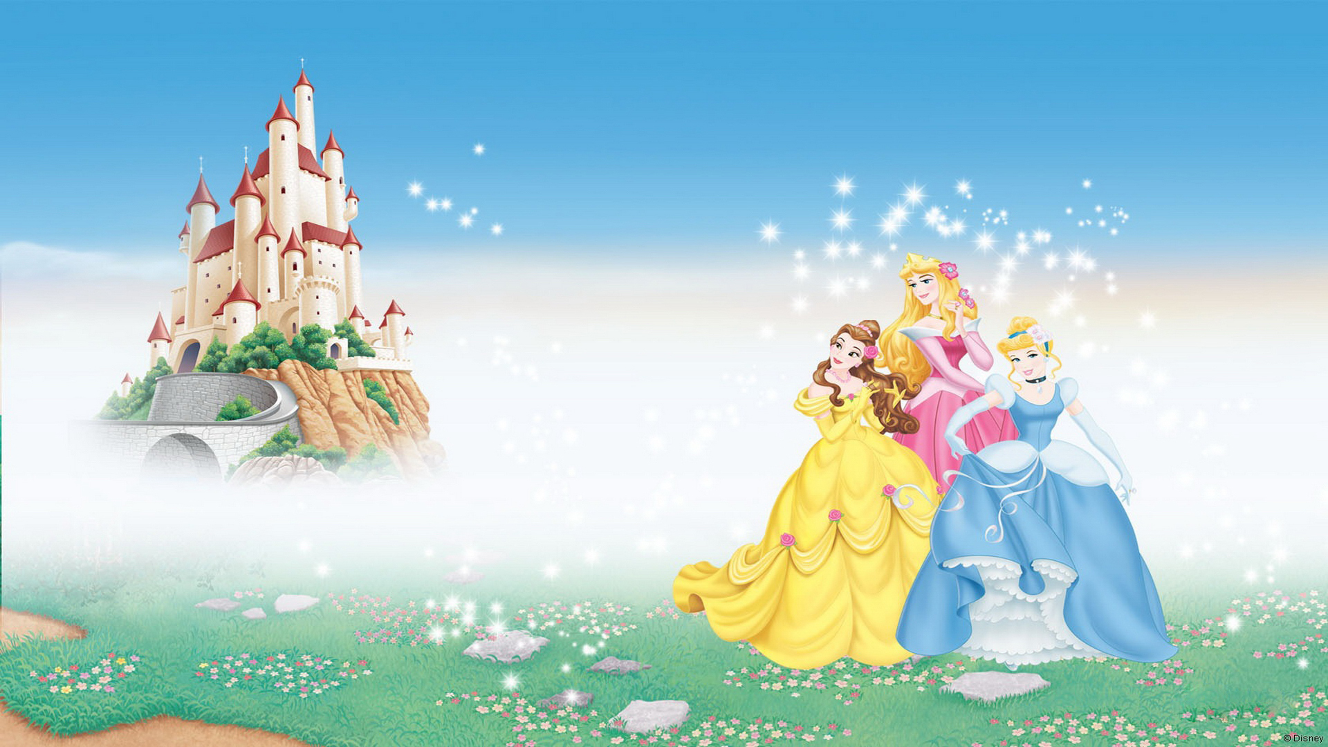 Wallpapers Cars Disney Hd Disney Princess Full Hd Wallpaper Pixelstalk Net