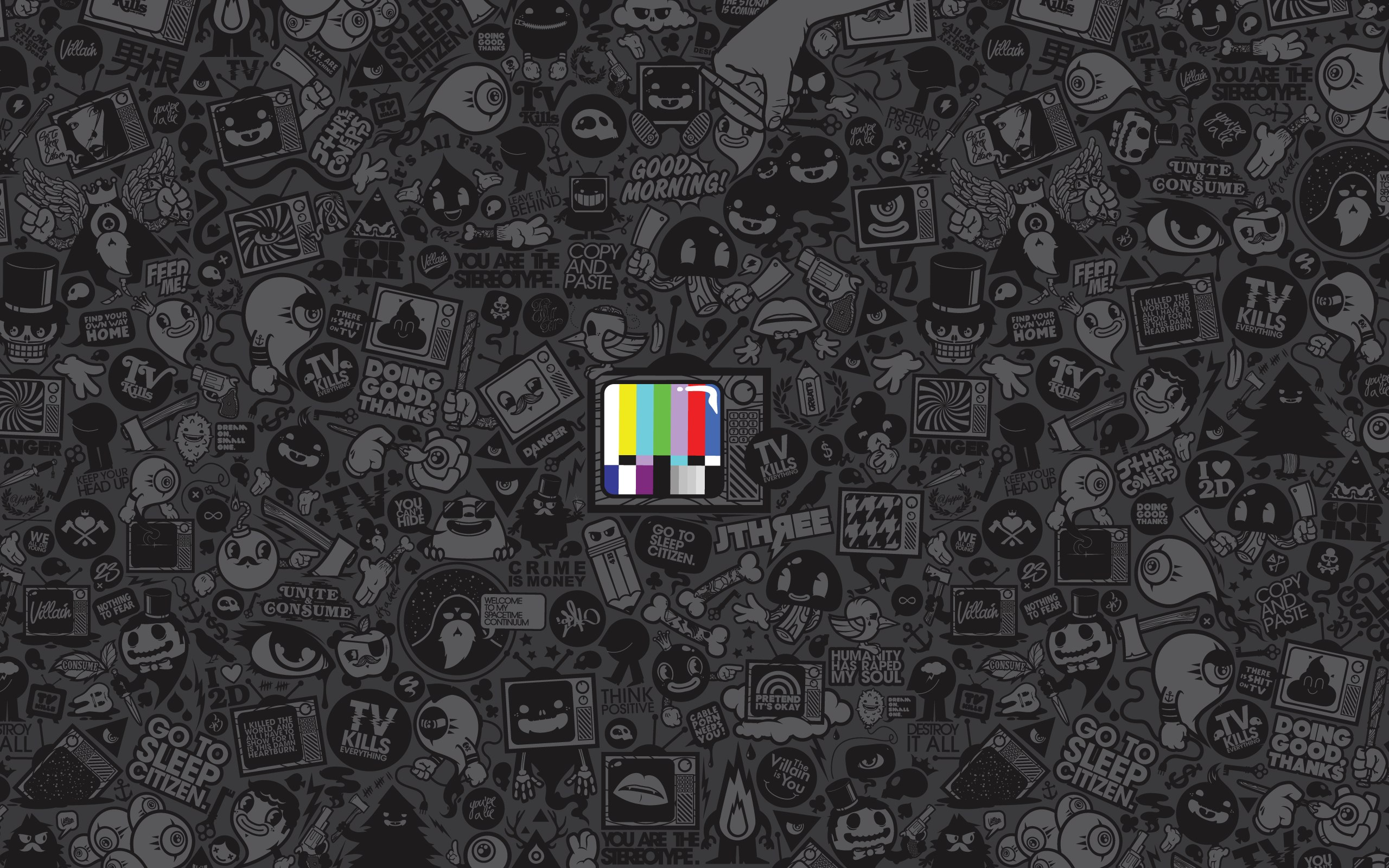 D Wallpaper Funky Wallpapers Hd Pixelstalk Net
