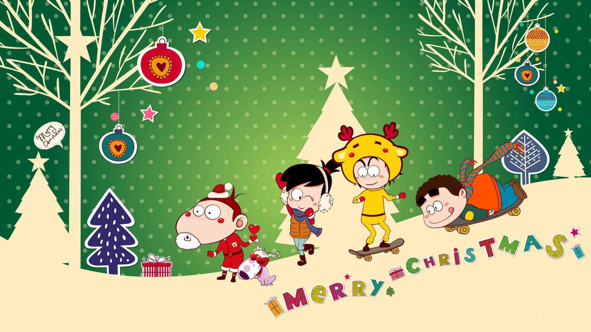 Cute Merry Christmas Wallpaper Backgrounds Christmas Backgrounds Free Download Pixelstalk Net