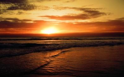 HD Sunset Beaches Backgrounds | PixelsTalk.Net