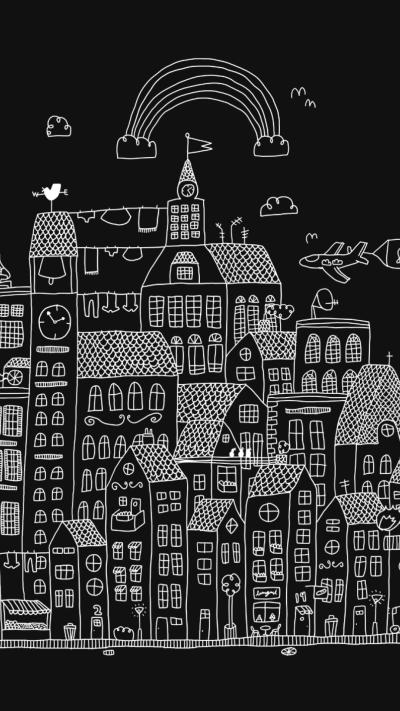 Black And White iPhone Backgrounds | PixelsTalk.Net