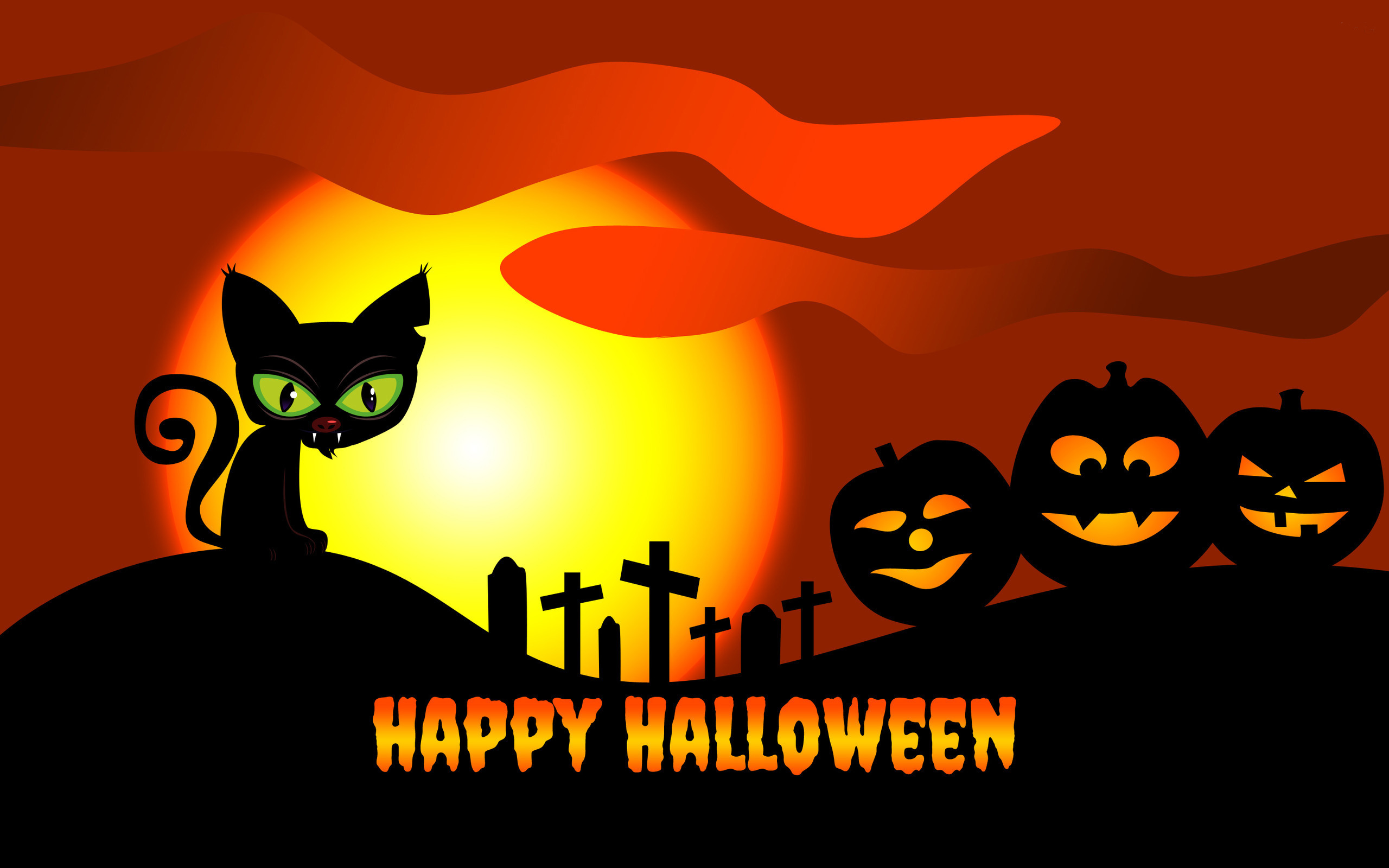 Hd Wallpaper Quotes Widescreen Download Free Hello Kitty Halloween Wallpapers