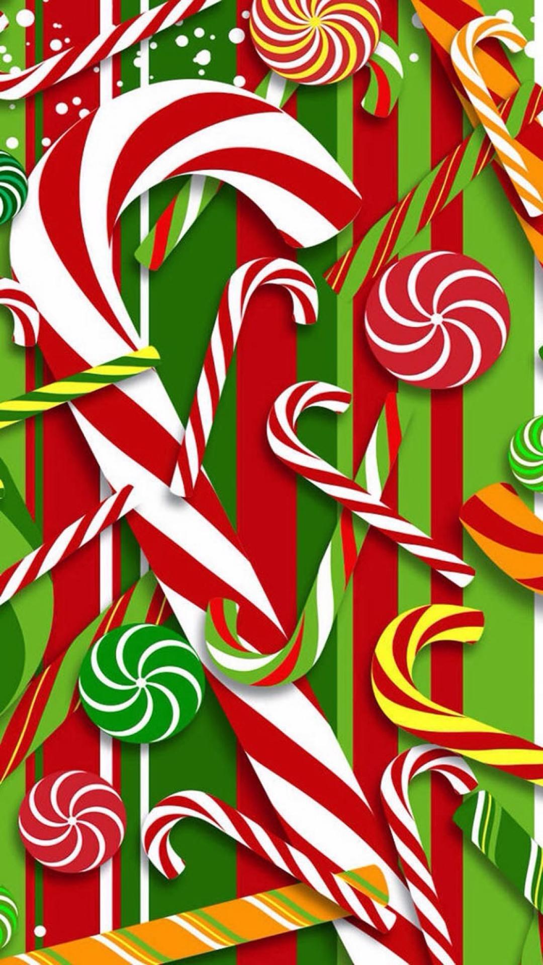 Cute Chevron Print Wallpaper Christmas Iphone Wallpaper Pixelstalk Net