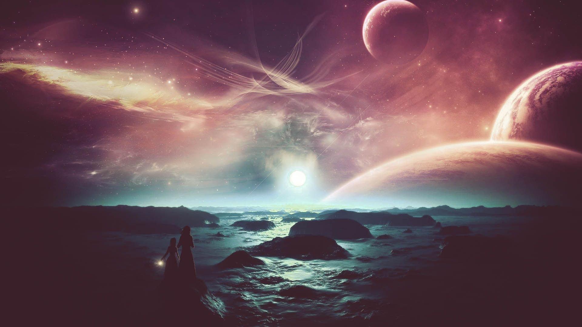 Cosmos Quotes Wallpaper Alien Planet Wallpapers Download Free Pixelstalk Net