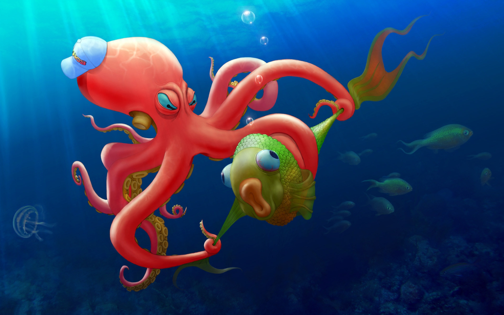 Free Fall Season Wallpapers Octopus Backgrounds Pixelstalk Net