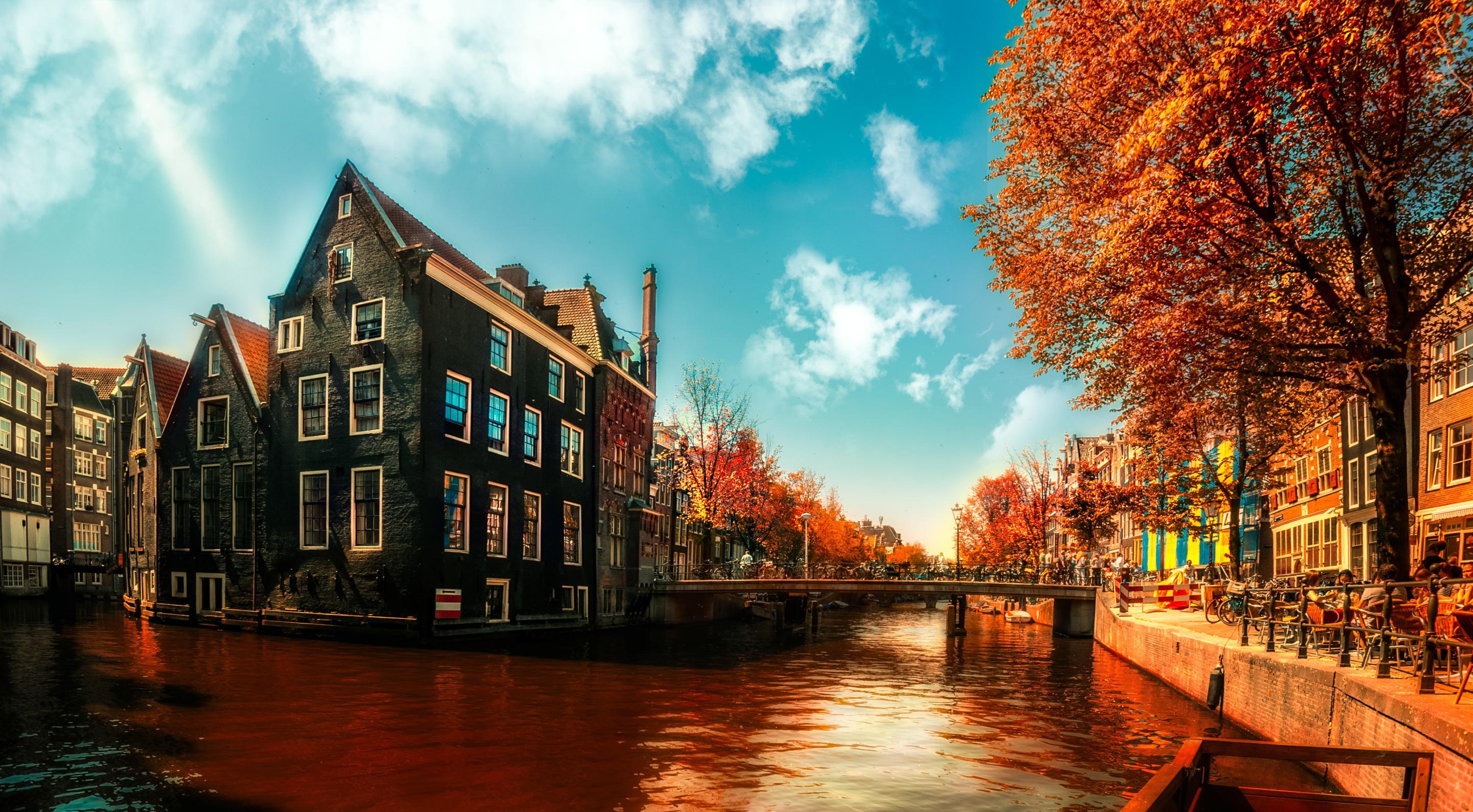 Amsterdam Fall Wallpaper Amsterdam Wallpaper Hd Pixelstalk Net